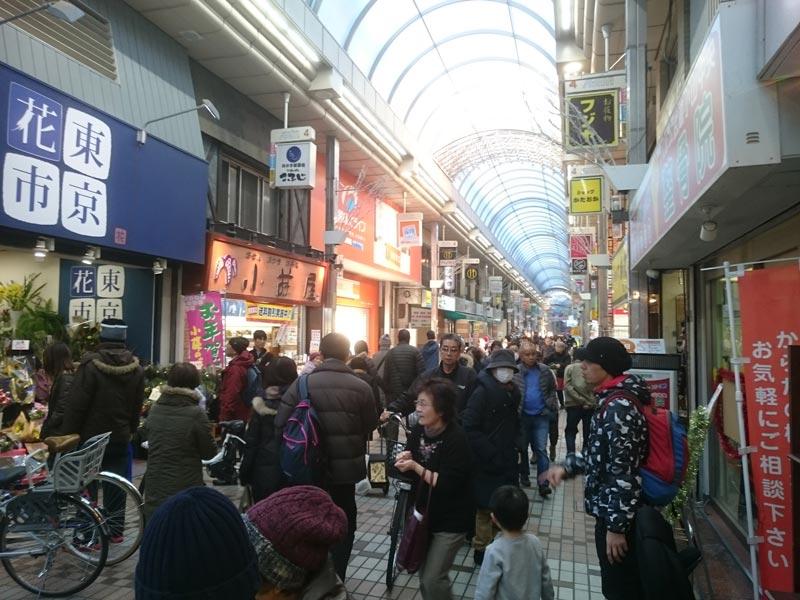 武蔵小山商店街の年末風景2