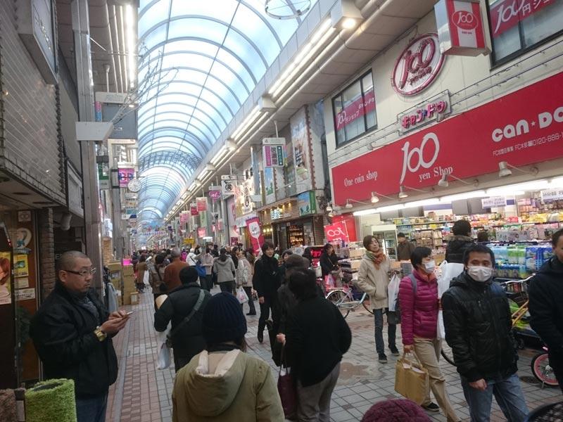 武蔵小山商店街の年末風景1