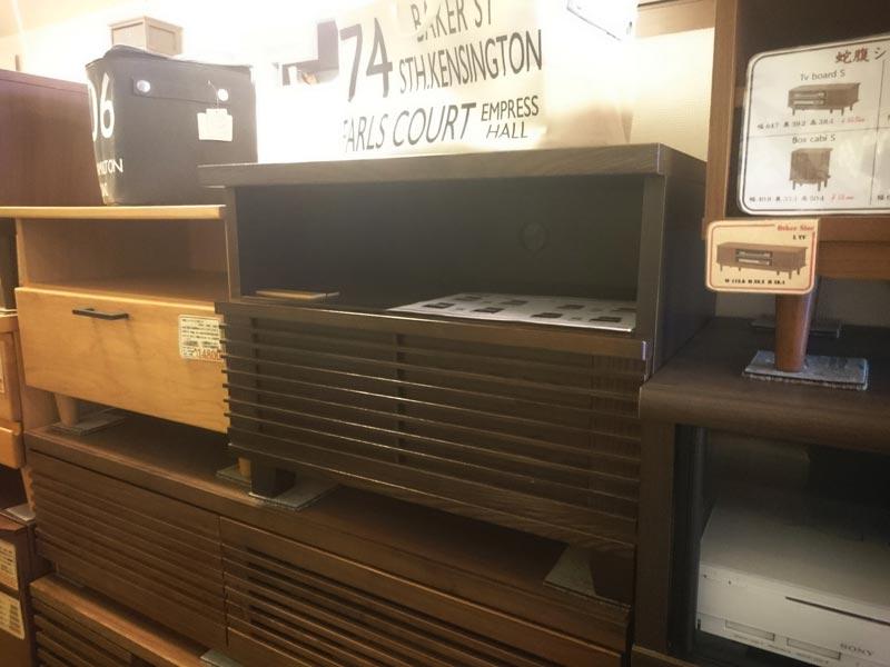 コンパクトタモテレビボード