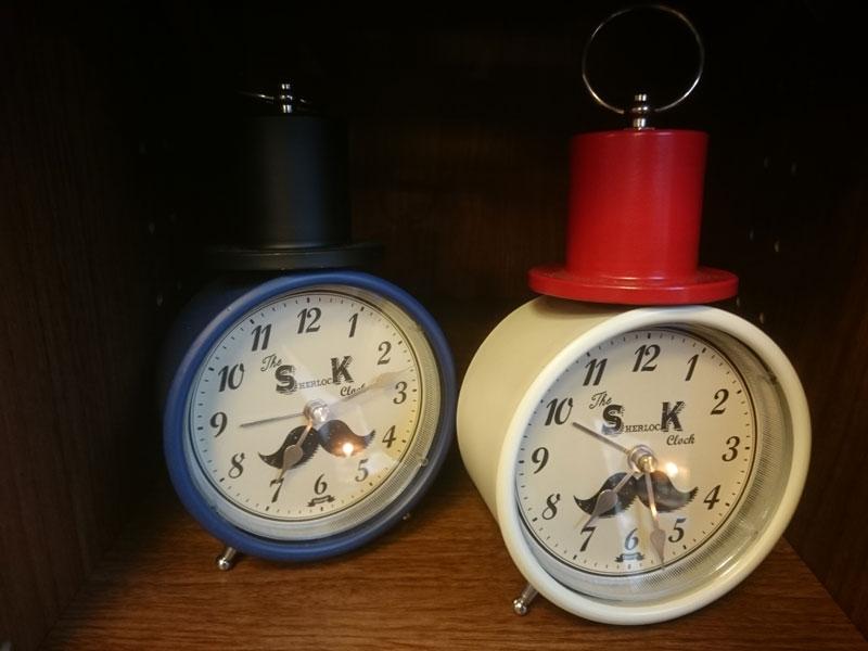 置き時計類展示4